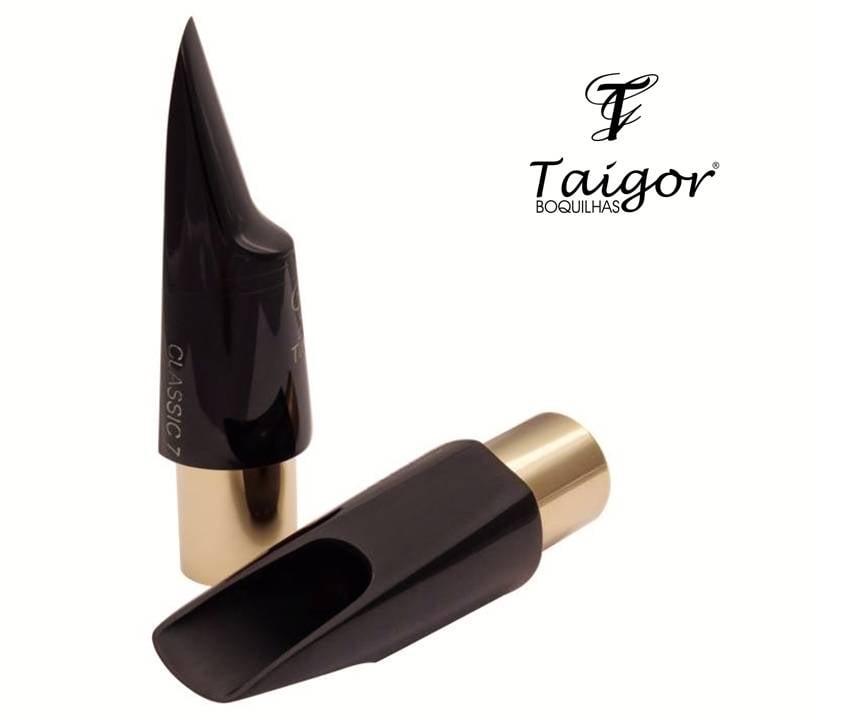 Boquilha Taigor Sax Tenor Classic 7 S/ Abraçadeira