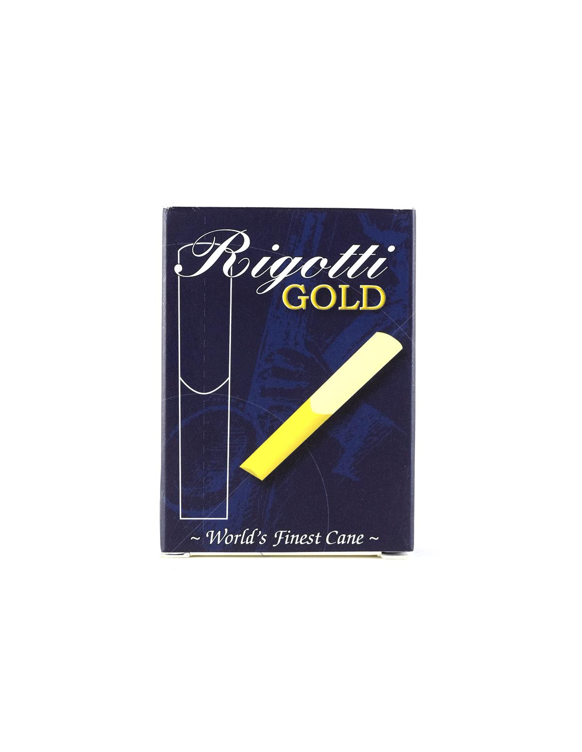 Palheta Rigotti Gold Sax Tenor (Unidade)
