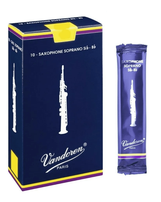 Palheta Vandoren Tradicional Saxofone Soprano - Unidade