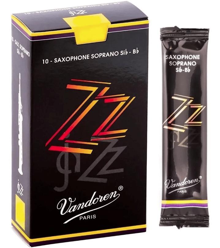 Palheta Vandoren ZZ Saxofone Soprano - Unidade