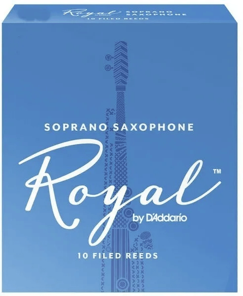 Palheta Rico Royal Saxofone Soprano