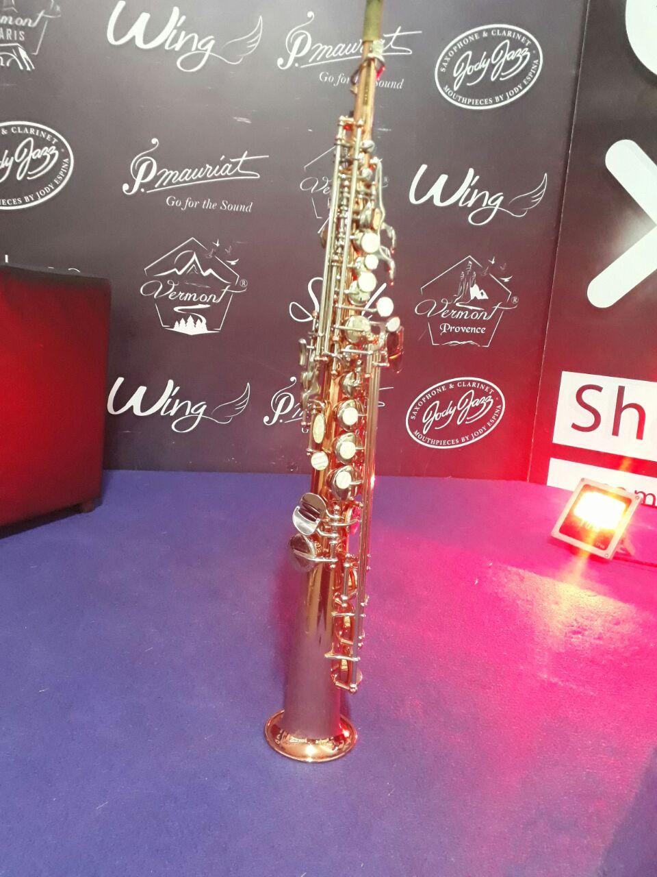 Saxofone  Soprano Michael WSSM35 Seminovo