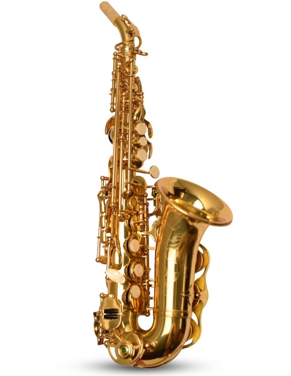 Saxofone Soprano Curvo Wing - Pequenas Avarias