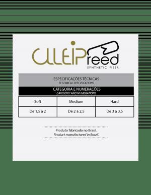 Palheta Clleip Reed  P/ Sax Alto