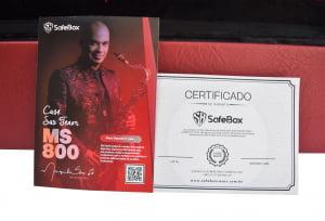 Case Alto/Soprano Curvo Marquinho Sax