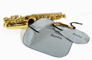 Kit limpeza Bambú Saxofone Alto