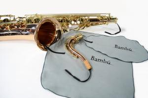 Kit Limpeza Bambu Saxofone Tenor