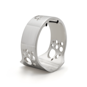 Abraçadeira Everton Ring Ligature Silver P/ Sax Alto (Boq. Massa)
