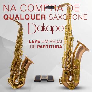 Kit Saxofone alto Dakapo e Pedal