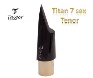 Boquilha Taigor Sax Tenor Titan 7 C/ Abraçadeira