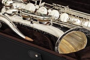 Saxofone Tenor Eagle STX 513S (prata)